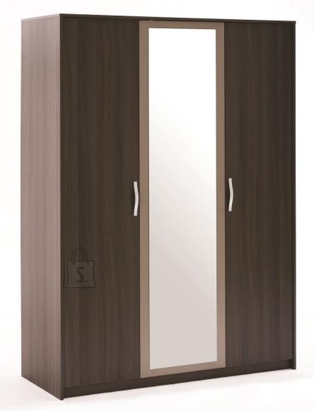 Demeyere Riidekapp GRAPHIC tamm, 138,9x54,8xH192,7cm
