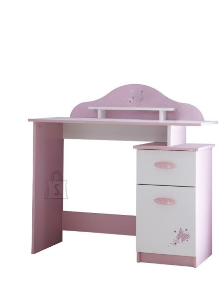 Demeyere Kirjutuslaud PAPILLON roosa, 101x50xH96 cm