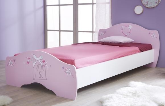 Demeyere Voodi PAPILLON roosa 90x190 cm