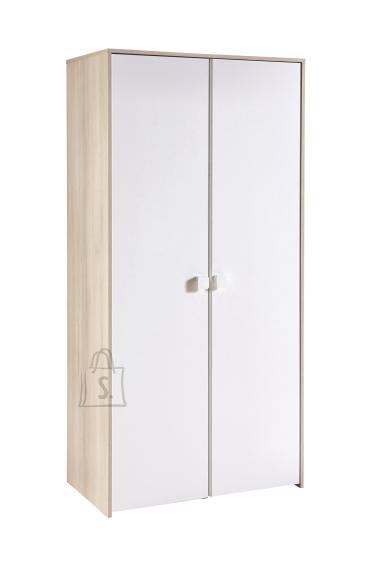 Demeyere Riidekapp GAME akaatsia / valge, 89x50,1xH179,3 cm