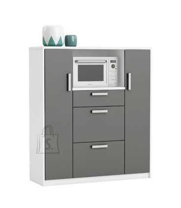 Demeyere Köögikapp FLAVOR hall / valge, 116,2x40xH132,2 cm