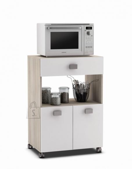 Demeyere Köögikapp ROMARIN valge / akaatsia, 60x41xH88 cm