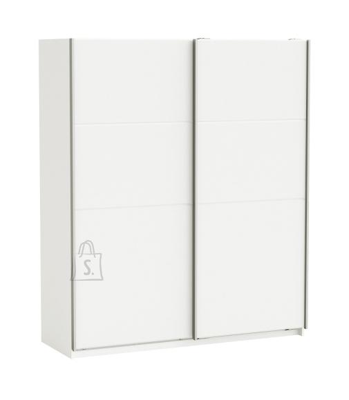 Demeyere Riidekapp SENSAS valge, 170x60xH203 cm