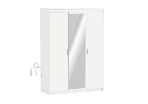 Demeyere Riidekapp MARTY valge, 131x55,1xH187 cm