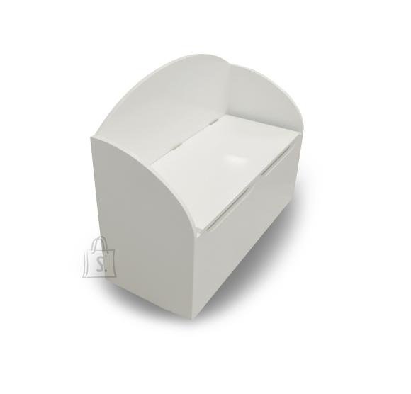 Demeyere Mänguasjakast TRESOR valge, 69,5x29,5xH55,5 cm