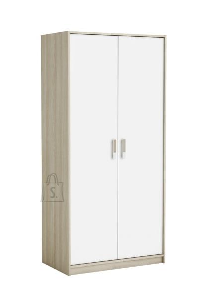 Demeyere Riidekapp SWITCH tamm / valge, 88x50,1xH185,5 cm