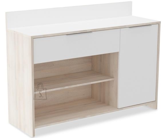 Demeyere Köögikapp MIKA valge / akaatsia, 123x40xH85 cm