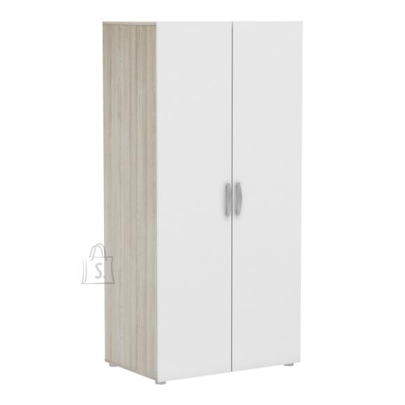 Demeyere Riidekapp NANO tamm / valge, 80x52xH165 cm