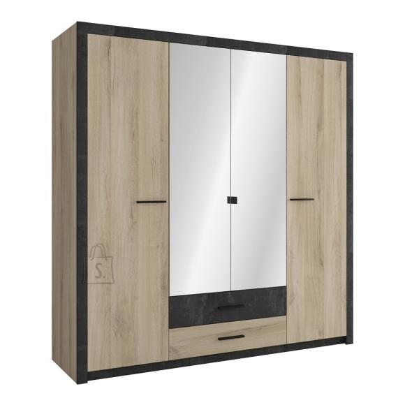 Demeyere Riidekapp COLORADO tamm, 198x57xH203 cm