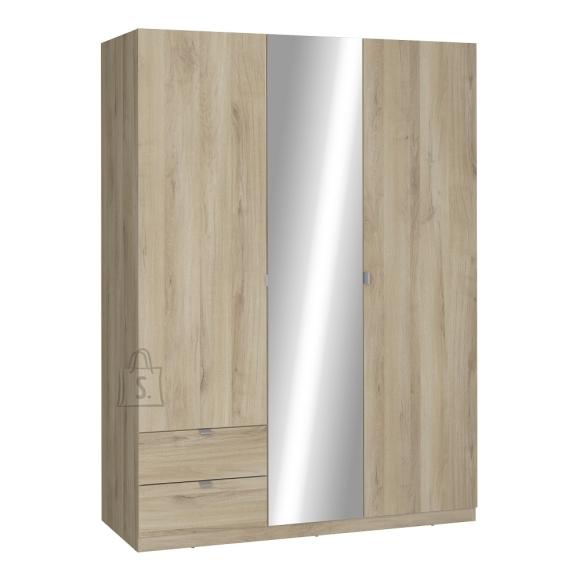 Demeyere Riidekapp MELLIE tamm, 140x57xH192 cm