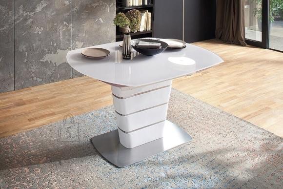 MCA Laud ACHIM valge, 140-200x100xH76 cm