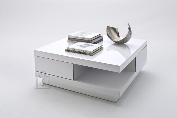 MCA Diivanilaud ABBY valge läige, 85x85xH30 cm