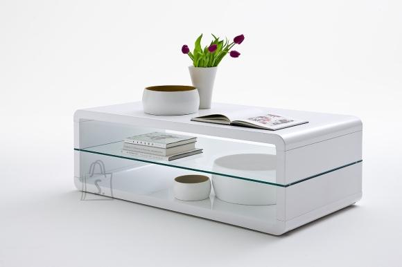 MCA Diivanilaud AGATHA valge läige, 120x60xH41 cm