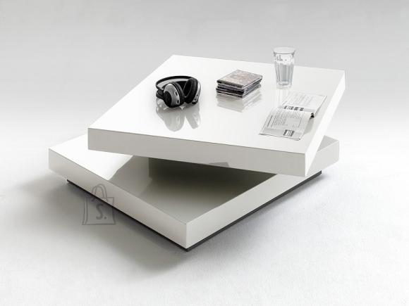 MCA Diivanilaud HUGO valge läige, 75x75xH30 cm