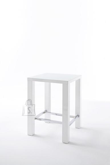MCA Baarilaud JAM valge, 80x80xH107 cm