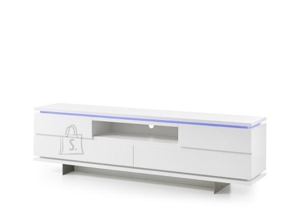 Tv-alus BALIN valge, 200x40xH57 cm, LED