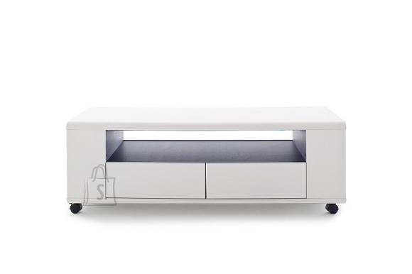 MCA Tv-alus CHELSEA valge / antratsiit, 119x43xH46 cm