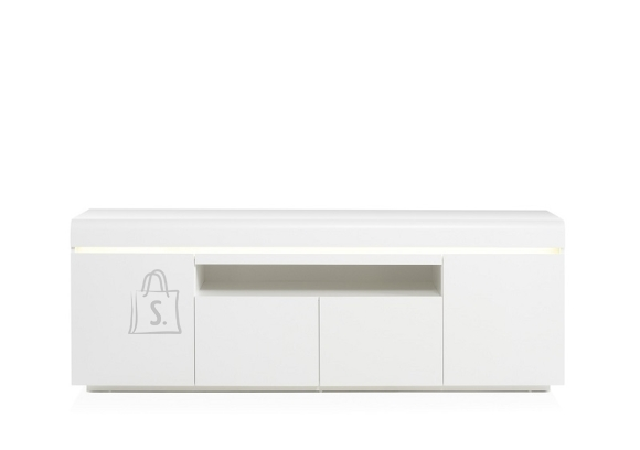 Tv-alus ELVIA valge, 180x40xH64 cm, LED