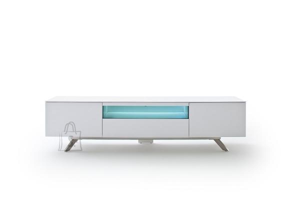 Tv-alus LENIA valge, 183x40xH46 cm, LED