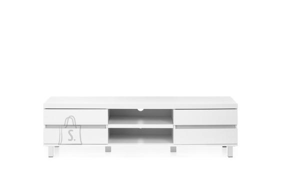 Tv-alus MILOS valge, 165x40xH47 cm