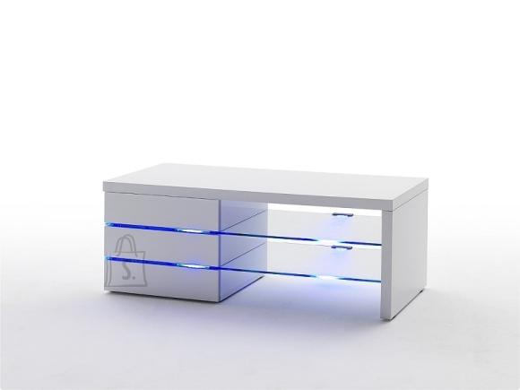 Tv-alus SONIA valge, 42x110xH44 cm, LED