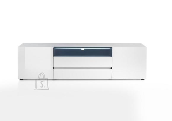 Tv-alus VICENZA valge, 185x43xH49 cm