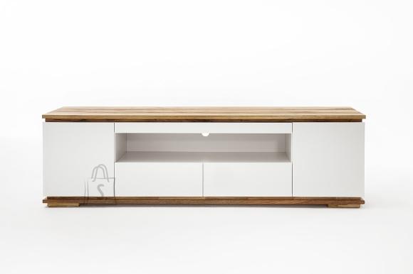 Tv-alus CHIARO valge / tamm, 202x40xH54 cm