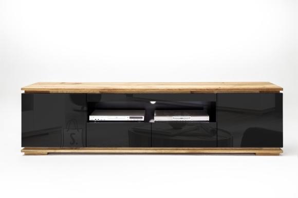 MCA Tv-alus CHIARO must läige / tamm, 202x40xH54 cm