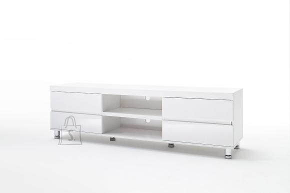 Tv-alus DIJON valge läige, 165x40xH47 cm