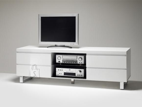 Tv-alus SYDNEY valge läige, 167x42xH63 cm