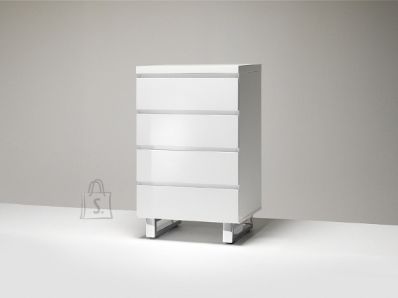 Kummut SYDNEY valge läige, 56x42xH93 cm