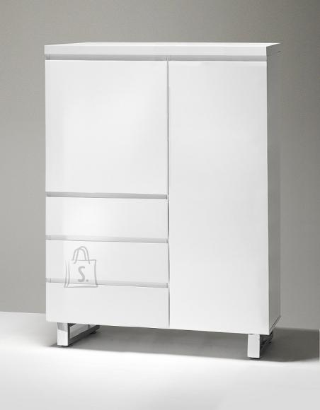 MCA Kummut SYDNEY valge läige, 96x42xH132 cm