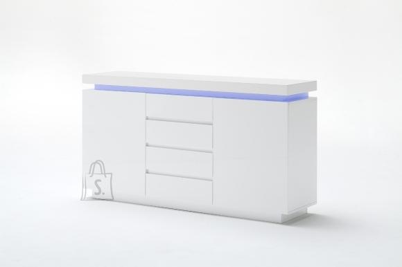 MCA Kummut OCEAN valge läige, 150x40xH81 cm, LED