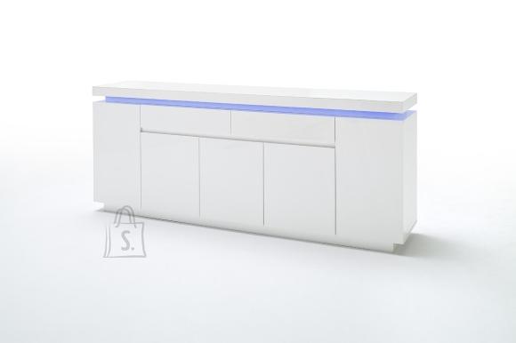 MCA Kummut OCEAN valge läige, 200x40xH81 cm, LED