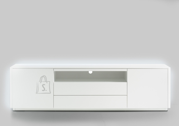 MCA Tv-alus MENTON valge, 204x41xH47 cm, LED