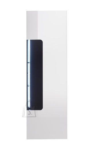 MCA Vitriinkapp VICENZA valge läige, 51x38xH161 cm