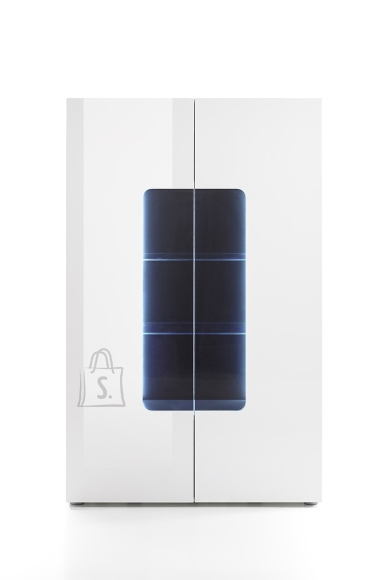MCA Vitriinkapp VICENZA valge läige, 110x38xH161 cm