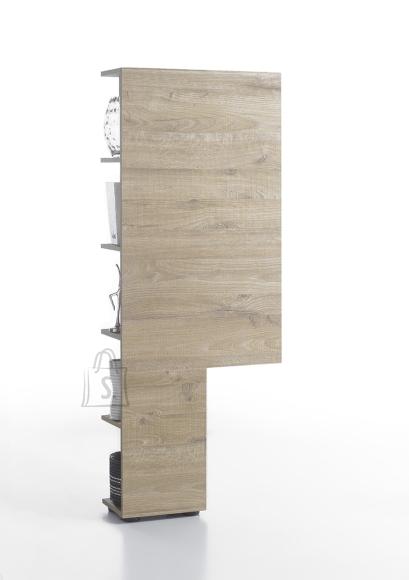 MCA Riiul VICENZA tamm, 55x22xH145 cm