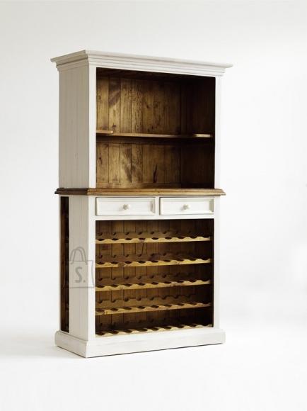 Veinikapp BODDE valge / pruun, 112x52xH190 cm