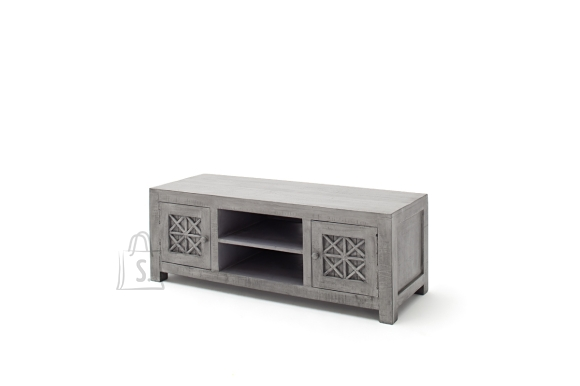 Tv-alus LAGOS hõbehall, 125x45xH45 cm