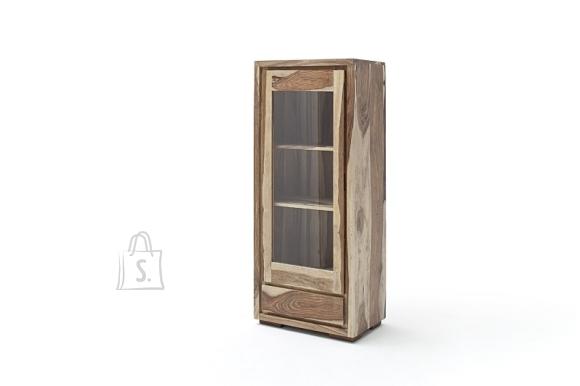 MCA Vitriinkapp MAYA pruun, 60x40xH145 cm