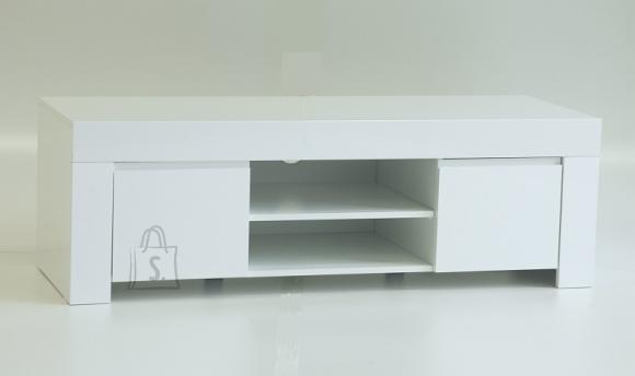 Tv-alus AMALFI valge läikega, 190x50xH45 cm