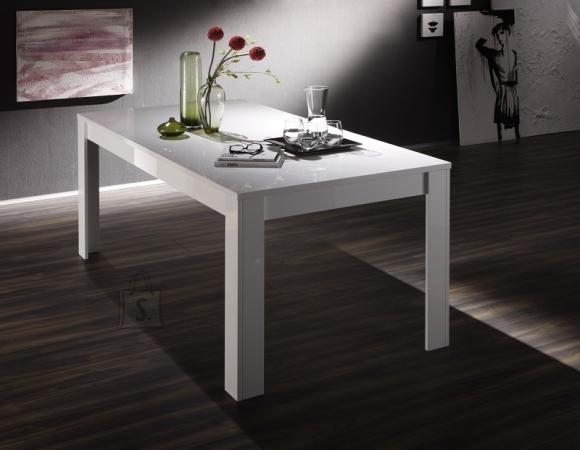 MCA Laud AMALFI valge läikega, 160x90xH76 cm