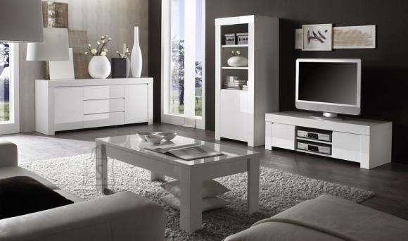 MCA Elutoamööbli komplekt AMALFI valge läikega