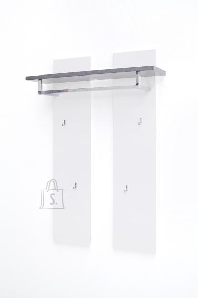 MCA Seinanagi ATLANTA valge / hall, 91x25xH135 cm