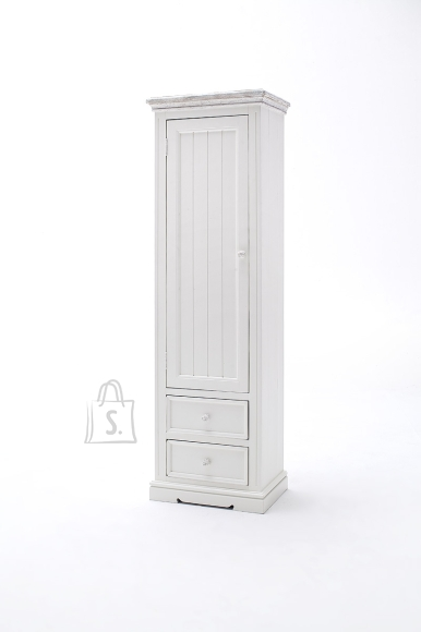 MCA Esikukapp OPUS valge, 60x40xH200 cm