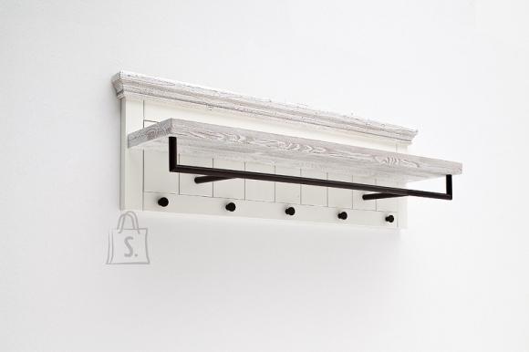 MCA Seinanagi OPUS valge, 124x30xH40 cm