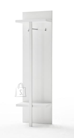 Seinanagi SYDNEY valge läikega, 55x30xH195 cm