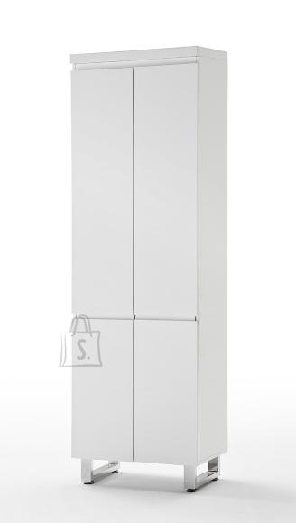 MCA Esikukapp SYDNEY valge läikega, 62x38xH195 cm