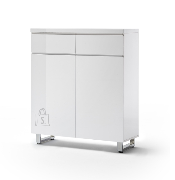 MCA Jalatsikapp SYDNEY valge läikega, 111x38xH126 cm